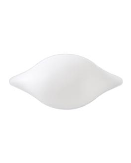 "recipiente ""limÓn"" 'bionic' 11x5,2x3 cm blanco bagazo (1000 unid.)"