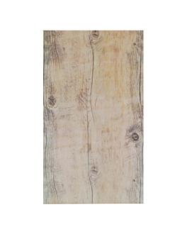 vassoio gn 1/4 imitazione legno 26,5x16 cm melamina (6 unitÀ)