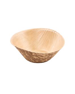 tarrinas Ø 7,5x3 cm natural bambÚ (1000 unid.)