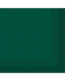 """serviettes """"quattro"""" ecolabel 4 plis 21 g/m2 45x45 cm vert jaguar ouate (750 unitÉ)"""