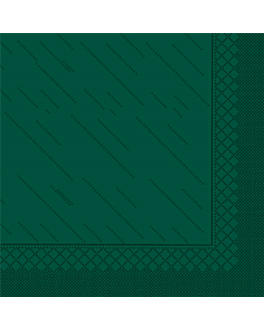 """quattro"" napkins ecolabel 4 ply 21 gsm 45x45 cm jaguar green tissue (750 unit)"