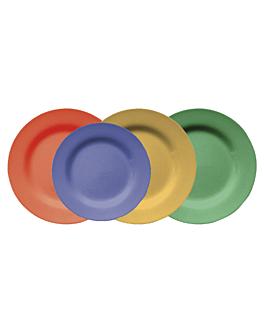 piatti Ø 23 cm verde melamina (12 unitÀ)