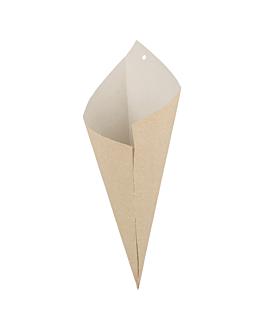 sachets en pointe - biclasse 250 g 125 g/m2 29,5x21 cm blanc/ecru papel biclase (2000 unitÉ)