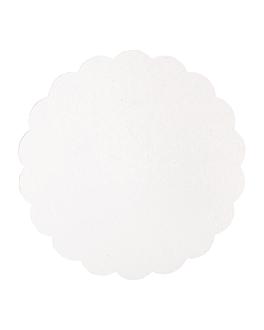 discos planos pastelerÍa 300 g/m2 Ø 23 cm blanco cartÓn (250 unid.)