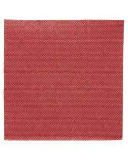 tovaglioli ecolabel 'double point' 18 g/m2 20x20 cm bordeaux tissue (2400 unitÀ)