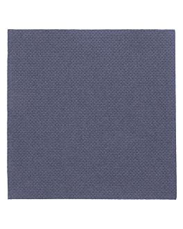 tovaglioli ecolabel 'double point' 18 g/m2 20x20 cm blu marino tissue (2400 unitÀ)