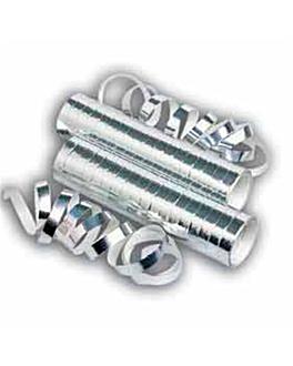 2x18 streamers 7mmx4m silver paper (1 unit)