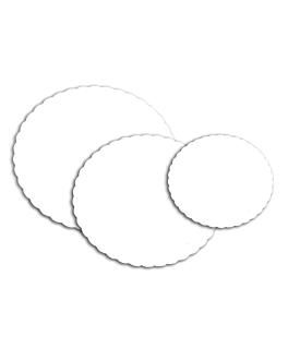 disques plats pÂstisserie 300 g/m2 Ø 29 cm blanc carton (250 unitÉ)