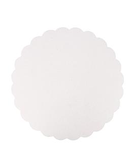 piatti lisci pasticceria 300 g/m2 Ø 29 cm bianco cartone (250 unitÀ)