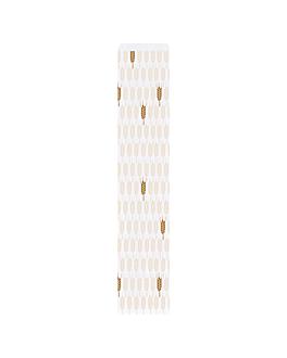 sacchetti panetteria 'ceres' 33 g/m2 9+3,5x46 cm bianco cellulosa (500 unitÀ)