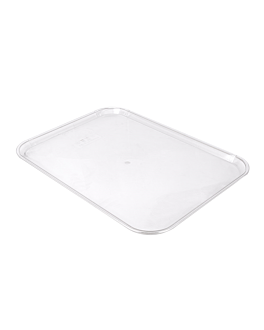 bandeja para cÚpula 40,5x56 cm transparente policarbonato (1 unid.)