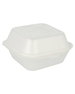 burger boxes 12x12x7,4 cm white eps (500 unit)