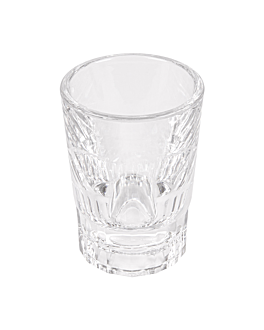 shot glasses 55 ml Ø 5,5x7,5 cm clear polycarbonate (12 unit)
