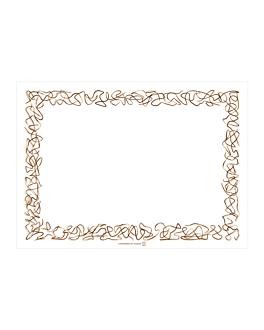 sets de table 'aristas' 48 g/m2 31x43 cm blanc cellulose (2000 unitÉ)