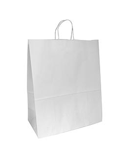 sacos sos com asas 100 g/m2 40+20x48 cm branco celulose (150 unidade)