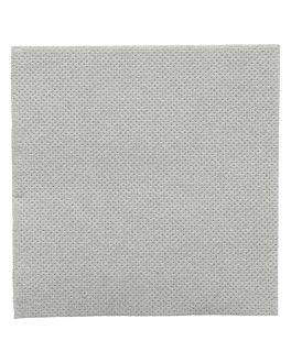 tovaglioli ecolabel 'double point' 18 g/m2 20x20 cm grigio tissue (2400 unitÀ)
