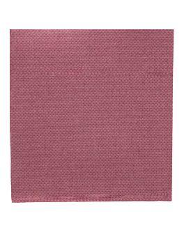 tovaglioli ecolabel 'double point' 18 g/m2 20x20 cm prugna tissue (2400 unitÀ)