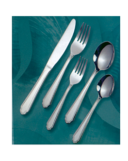 "cucharas de mesa ""linea 2035"" 19,5 cm/ 2,0 mm metal inox 18% (12 unid.)"