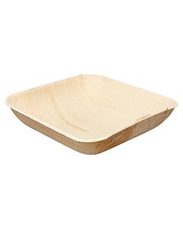 ciotole quadrate 'areca' 15x15x4 cm naturale areca (200 unitÀ)
