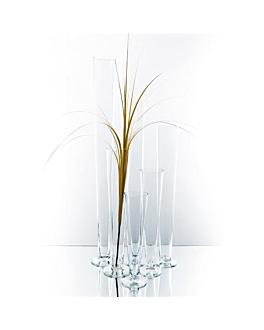 """decoraciÓn gigante """"copa"""" Ø 14x100 cm transparente cristal (1 unid.)"""