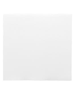serviettes ecolabel 'double point' 18 g/m2 39x39 cm blanc ouate (1200 unitÉ)