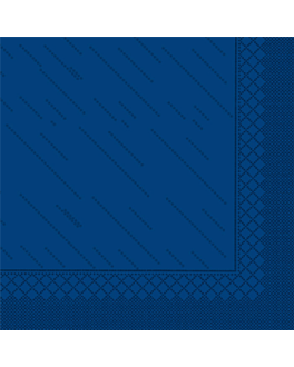 """quattro"" napkins ecolabel 4 ply 21 gsm 45x45 cm navy blue tissue (750 unit)"
