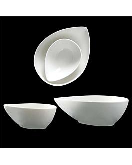 """mini containers """"tear"""" Ø 10x7,2x4,1 cm white porcelain (12 unit)"""