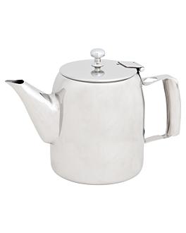 jarre cafÉ 600 ml 12,3 cm argente inox (1 unitÉ)