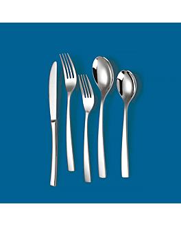 "dessert forks ""linea 2066"" 18,3 cm/ 3,0 mm metal stainless steel 18% (12 unit)"