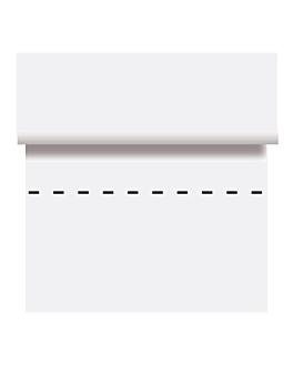 mantel precortado - 100 segmentos 48 g/m2 100x100 cm blanco celulosa (4 unid.)