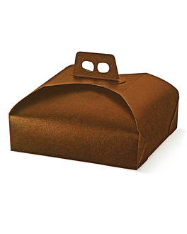 cake for boxes 43x43x7 cm brown cardboard (60 unit)