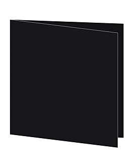 serviettes 55 g/m2 45x45 cm noir dry tissue (700 unitÉ)