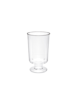 copas inyectadas vino 150 ml Ø 5,7x9,6 cm transparente cristal ps (264 unid.)