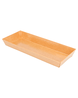 containers 250 + 12,5 pe gsm 19x8,5x3,5 cm natural kraft (1000 unit)