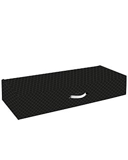10 u. cartons jambon 576 g/m2 89x31,3x16 cm noir carton (1 unitÉ)