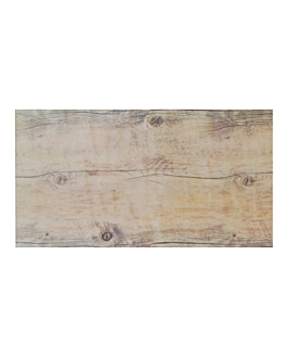 vassoio gn 1/3 imitazione legno 32x17 cm melamina (6 unitÀ)