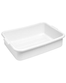 vaschetta multiuso 54x39x18,5 cm bianco plastica (1 unitÀ)