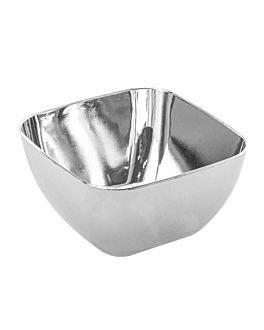 "containers for appetisers ""ramekin"" 60 ml 5,7x5,7x3,2 cm silver ps (500 unit)"