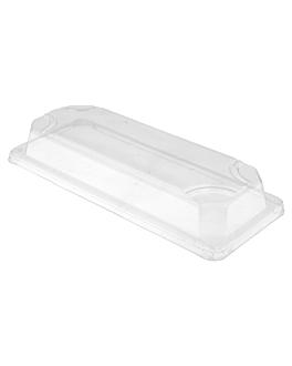 couvercles pour rÉf. 212.93 'bionic' 22,2x9,6x3,2 cm transparent ops (800 unitÉ)