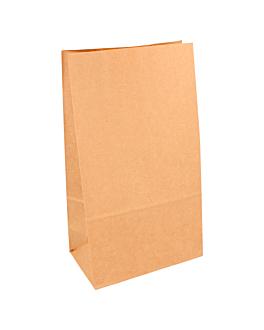 sacchetti sos senza maniglia 80 g/m2 14+8x24 cm naturale kraft (1000 unitÀ)