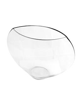 demi sphÈre dÉcoration 30,5x11x25,5 cm transparent verre (1 unitÉ)