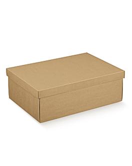 10 u. cajas rectangulares 45,5x32x15 cm natural kraft (1 unid.)