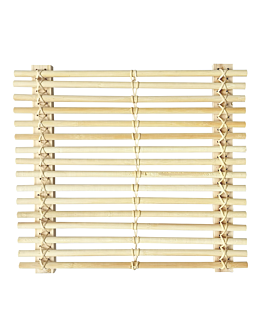 presentation tablemat 35,4x32,5 cm natural bamboo (10 unit)
