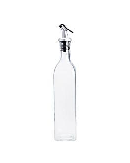burette 500 ml 5,7x5,7x26 cm transparent verre (24 unitÉ)