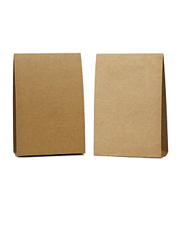 tabletop signs 10x15,2 cm brown paper (6 unit)