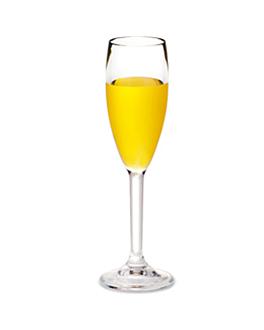 copas champÁn 150 ml Ø 5,2x23 cm transparente policarbonato (24 unid.)