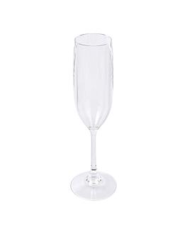 flÛtes champagne 150 ml Ø 5,2x23 cm transparent polycarbonate (24 unitÉ)