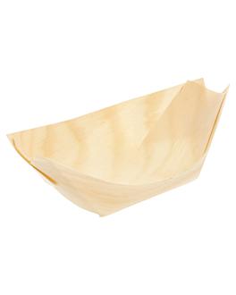 barquillas de hojuela de pino 11x7x2 cm natural madera (2000 unid.)