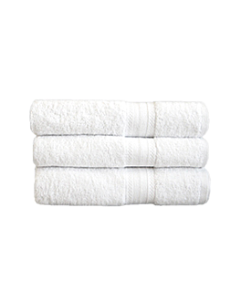 essuie-mains 500 g/m2 50x100 cm blanc coton (48 unitÉ)