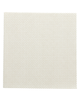 servilletas 'elegance' 55 g/m2 40x40 cm blanco airlaid (700 unid.)